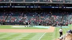 yankees batting practice (allikazoo) Tags: texasrangers newyorkyankees alcs