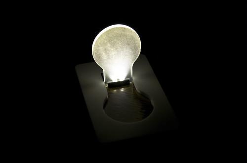 DOULEX LED Light Bulb Pocket Card