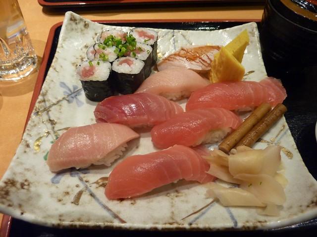 Sushi at Narita