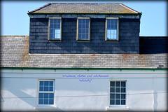 Windows, slates and whitewash (Yellabelly*) Tags: ireland roof irish lighthouse building window architechture coastal telephonelines slate whitewash countyclare loophead