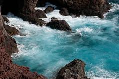 Punto de Teno, Tenerife (Hans Olofsson) Tags: blue water rocks paradise tenerife vatten lagun bluelagun puntodeteno