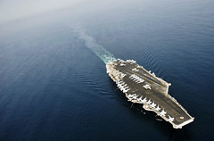 USS Truman in the Arabian Sea (US Navy) Tags: ship military militar aircraftcarrier usnavy buque arabiansea ocano unitedstatesnavy usstruman