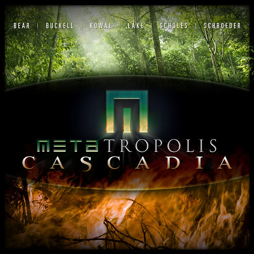 Metatropolis Cascadia Cover Art
