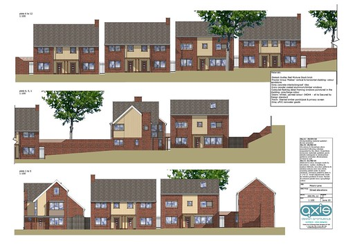 Moors Lane elevations