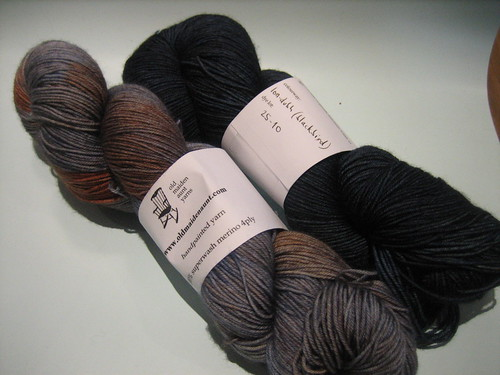 old maiden aunt superwash sock