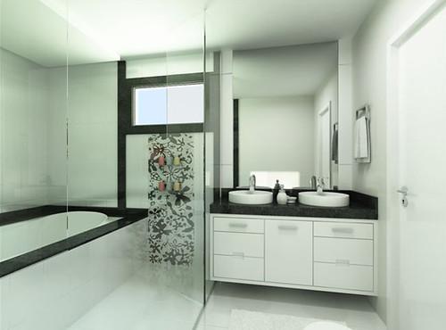 fotos de banheiros planejados