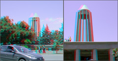 Avicenna tomb_Anaglyph 3d picture; you need Red Cian glasses-   (Shahrokh Dabiri) Tags: persian tomb stereo iranian hamedan scientist stereoscopy avicenna 3dpicture iranianscientist
