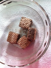 Chocolate Wafers from Trader's Joe (papillonbleu20042000) Tags: cake yummy pastry sweets tradersjoe chocolatewafers