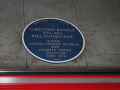 Photo of Christian Kunzle blue plaque