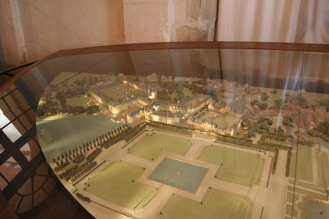 楓丹白露宮 模型