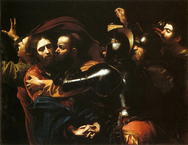 Caravaggio - Taking Christ