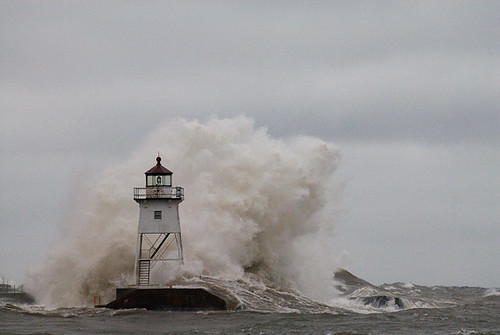Lighthouse in Storm 3