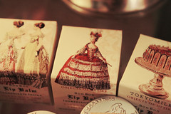 Victorian Lip Balm (MargaretRose.) Tags: old pink bon red white vintage cherry pretty perfume victorian makeup lipstick lipbalm scented