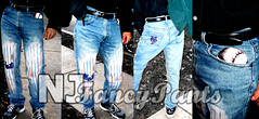 Mets (njfancypants) Tags: art painting clothing artwork pants baseball painted jeans mets njfancypants