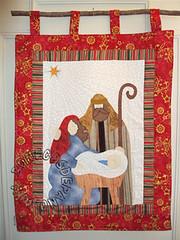 .:. Pan Sagrada Famlia .:. (Bonecos de Pano .Com) Tags: natal patchwork sagradafamlia aplicao enfeitenatal enfeitedeporta decoraonatal pannatal