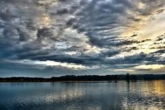 Lake Serene Sunrise and Clouds