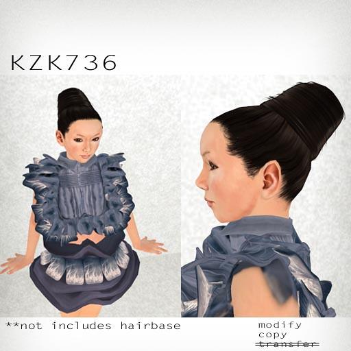 booN KZK736 hair