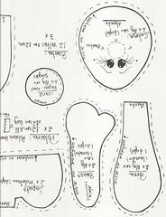 placa noel6[1] (alinnerj) Tags: natal fuxico feltro pap molde duende passoapasso moldedenatal nataldefeltro
