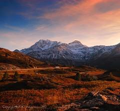 Thru The Alps (Fabio Montalto) Tags: alps switzerland dusk wonderland nikond200 colorefexpro nikfilters superaplus aplusphoto absolutelystunningscapes nikon1685 capturenx2 wagman30 simplonhospiz flickrclassique montagnedelsempione