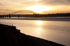 England - Cheshire - Widnes - Silver Jubilee Bridge - 28th October 2010 -37.jpg (Redstone Hill) Tags: england mersey widnes halton rivermersey silverjubileebridge runcornwidnesbridge