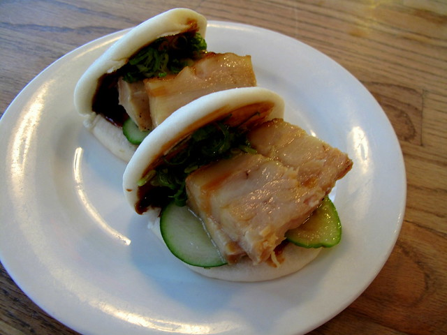 Pork Buns at Momofuku Milk Bar
