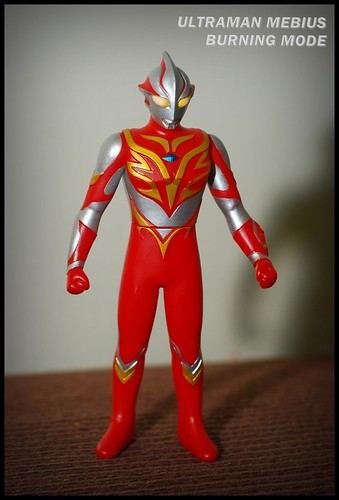 Ultraman Mebius in Burning Mode