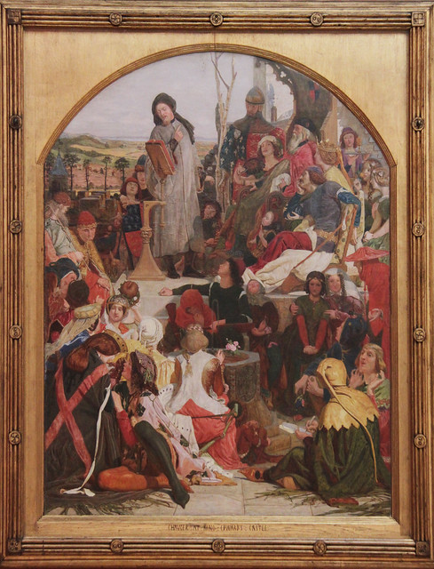 Chaucer at the Court of Edward III, Ford Madox Brown, 1858-68