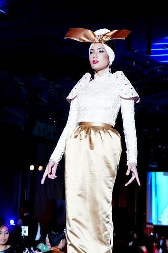 Gala Night of Islamic Fashion Festival 2010 - andrea fonseka