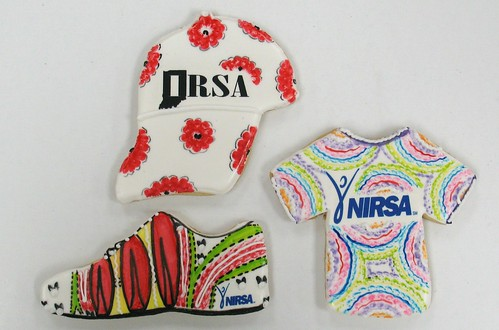 [Image from Flickr]:IRSA Logo cookies