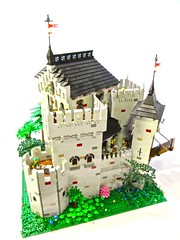 Castle Hadrian (vdubguy67') Tags: castle car ship lego fort space contest medieval creation pirate knight ccc hadrian moc afol