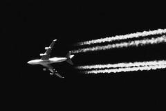 747 cruising altitude (deanhammersley) Tags: sky flying blackwhite contrail aircraft cruising 747 jettrail vapourtrail boeing747400 cruisingaltitude contrailing 747contrailing airlineratheight airlineratflightlevel350 airlineratcruisingaltitude 747ataltitude 74735000feet airlinerinthecruise aircraftinsky cruisingjet 747atcruisingaltitude