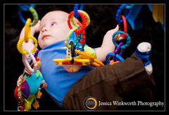 Cacophony of Toys (Jessica Winkworth Photography) Tags: baby toy infant lukas babyboy babytoy 3monthsold