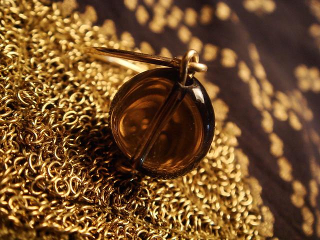 anillo gemmasu cuarzo fumé