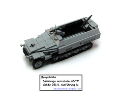sdkfz251-1-00 (Panzerbricks) Tags: lego panzer wehrmacht legotank sdkfz2511 legopanzer panzerbricks
