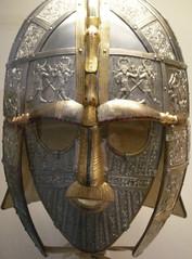 Sutton Hoo Ship Burial, Helmet (modern reconstruction)