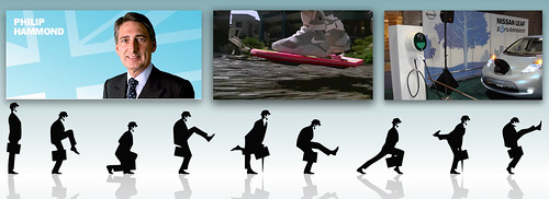 philip hammond ministry of silly walks