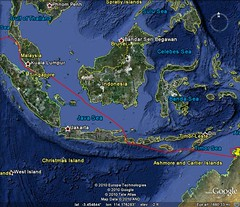 921101 Darwin to Phuket (rona.h) Tags: november map 1992 cacique ronah