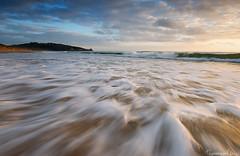Addiction (Tommaso Renzi) Tags: light sunset sea italy beach water clouds tramonto waves foam latina gaeta lazio sperlonga ulisse rivieradiulisse tommyrave renzitommaso torresanvito pianasantagostino