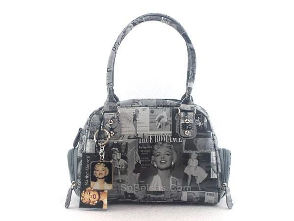 848058f6c Bolsa Marylin Monroe M9A103 Preta (2) (SP Bolsas Femininas e Acessórios  Loja Virtual
