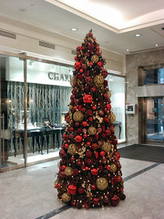 Canary Wharf Christmas Decorations