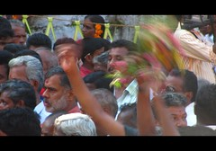 Frantic Enjoyment (Trilok Rangan) Tags: light elephant festival temple panchavadyam melam mahout chenda vilakku pazhayannur bhagavathy thidambu niramala panchari