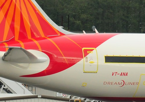 Air India VT-ANA Boeing 787