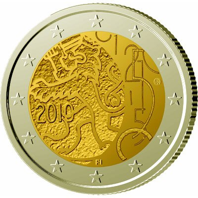 2 Euro Fínsko 2010, Menový dekrét z roku 1860 udeľujúci Fínsku právo vydávať bankovky a mince
