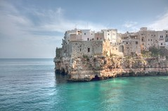 Polignano in HDR (JdProject.it) Tags: sea wallpaper photo hdr polignano polignanoamare canon450d
