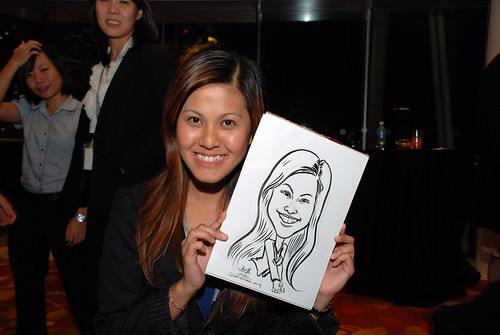 caricature live sketching for 2010 Asia Pacific Tax Symposium and Transfer Pricing Forum (Ernst & Young) - 4