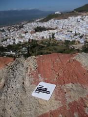 Chefchaouen, chane du Rif, Maroc (CarnetsDeTraverse) Tags: voyage travel stickers maroc chefchouen chouen