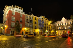 Plaza Mayor, Cuenca (Spain), HDR