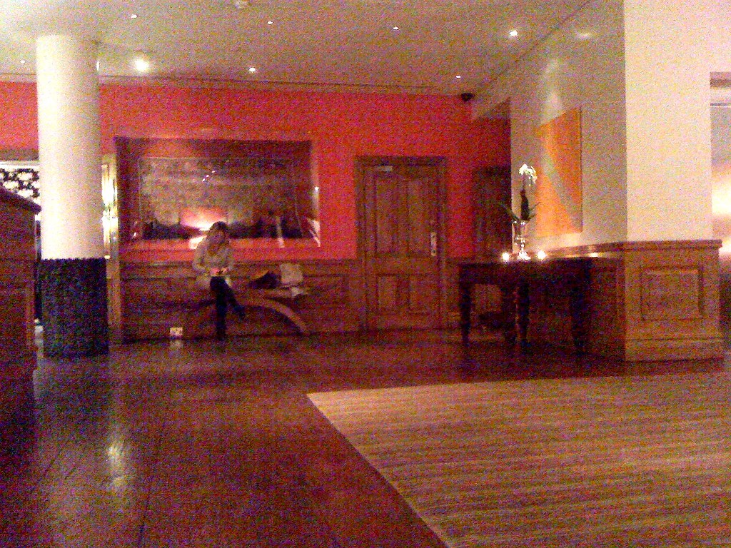 Soho Hotel: the basement