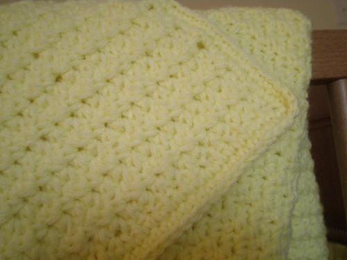 Baby blanket detail