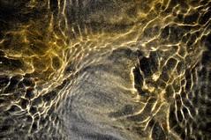 Cosmic (Broot - Thanks for a half million views!!) Tags: ocean november autumn fall nature wet water lens sand stream pattern tide salt maine ripples lowtide tidal saltwater streamlet portclyde sportssetting driftinnbeach